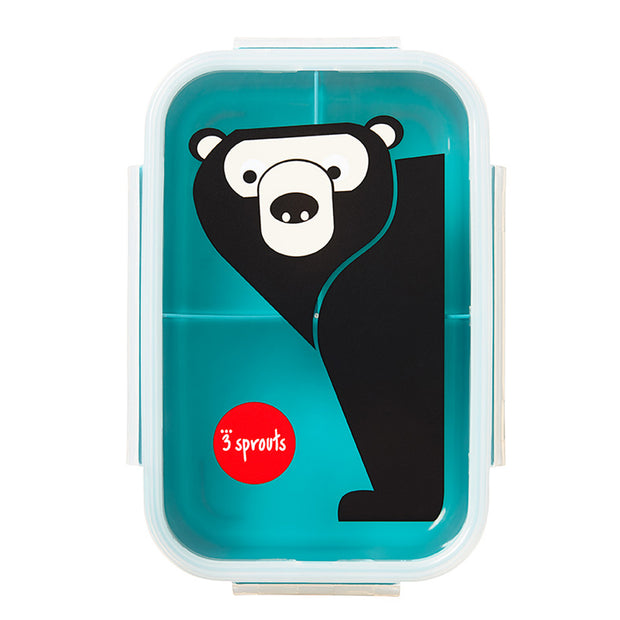 3 SPROUTS BENTO LUNCH BOX - BEAR