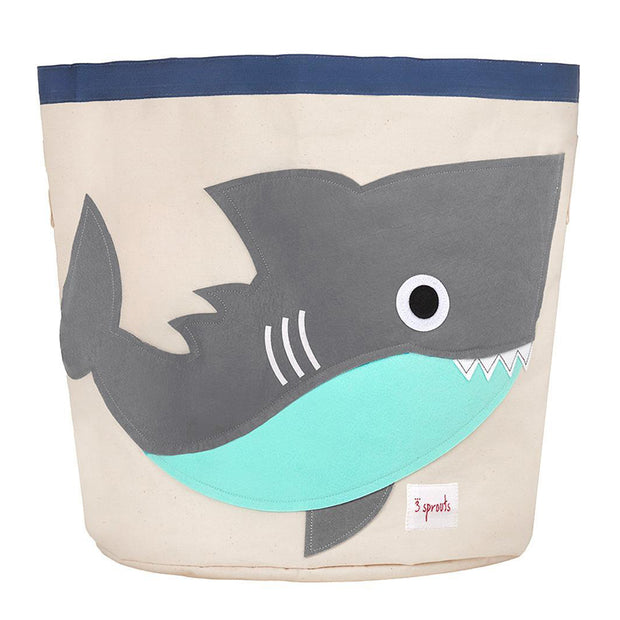 3 SPROUTS TOY STORAGE BIN - SHARK