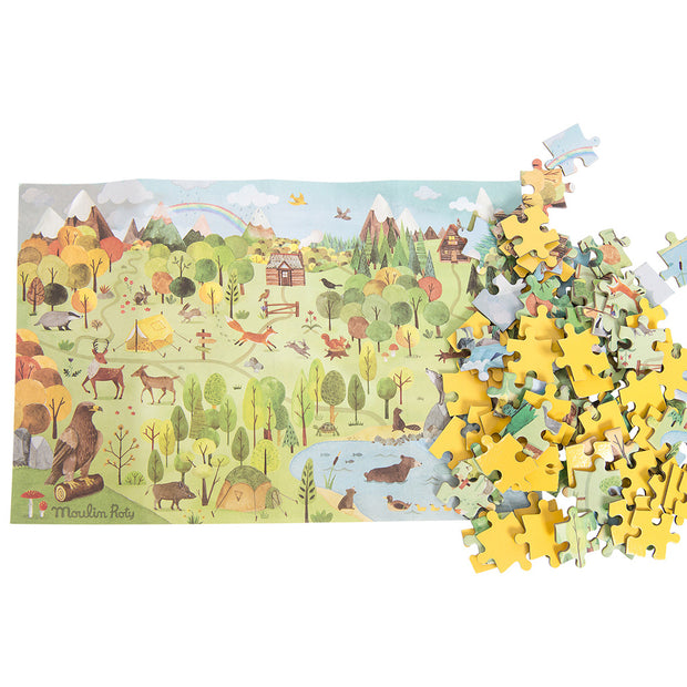 Moulin Roty Woodlands Jigsaw