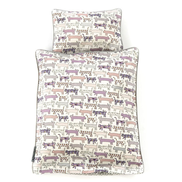 DOLLS BEDDING - CAT