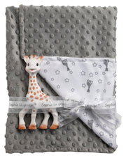 SOPHIE THE GIRAFFE SOPHIE' DOUX BLANKET GIFT SET