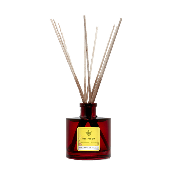 The Handmade Soap Company Reed Diffuser - Lemongrass & Cedarwood