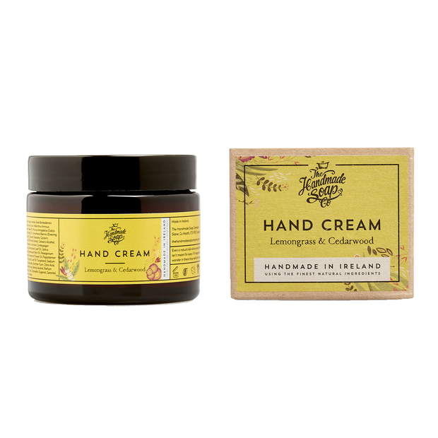 The Handmade Soap Company Hand Cream - Lemongrass & Cedarwood