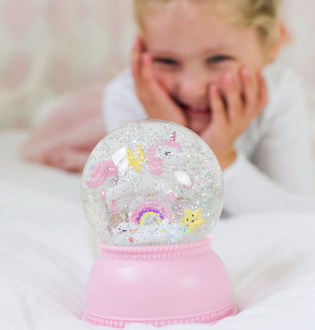 Unicorn Snowglobe light