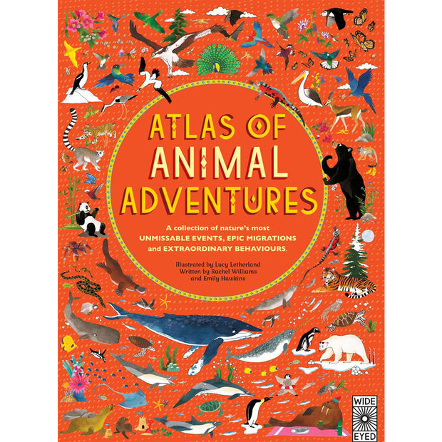 ATLAS OF ANIMAL ADVENTURE BOOK