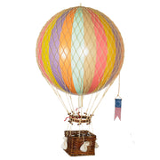 AUTHENTIC MODELS HOT AIR BALLOON PASTEL RAINBOW - VARIOUS SIZES