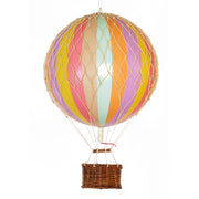 Authentic Models Hot Air Balloon - Pastel Rainbow (Various Sizes)
