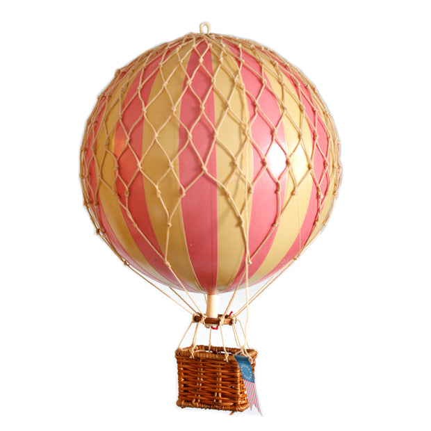 Authentic Models Hot Air Balloon - Pink (Various Sizes)