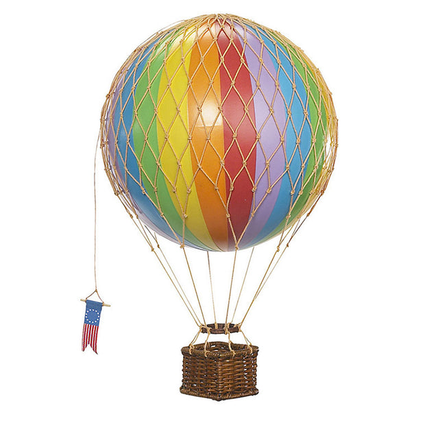 Authentic Models Hot Air Balloon - Rainbow (Various Sizes)