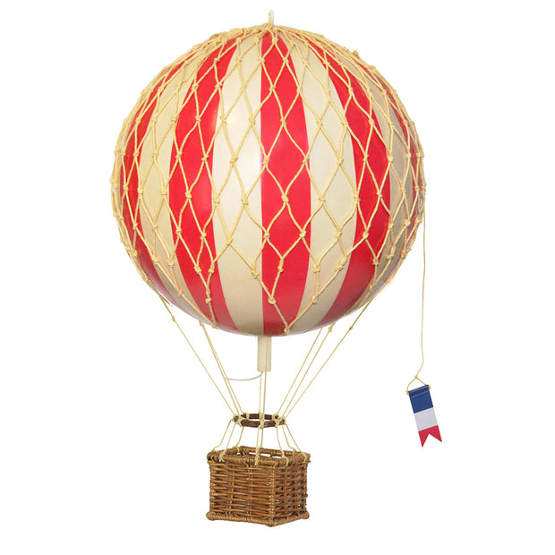 AUTHENTIC MODELS HOT AIR BALLOON RED - VARIOUS SIZES