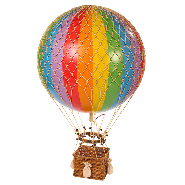 AUTHENTIC MODELS HOT AIR BALLOON RAINBOW - VARIOUS SIZES