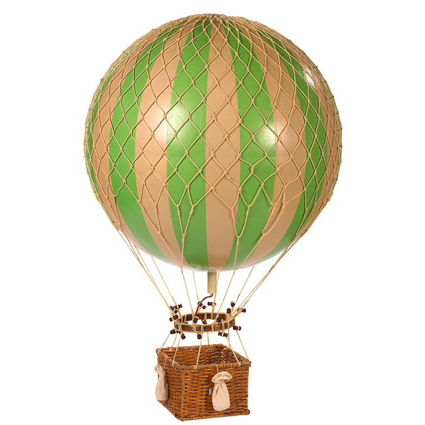 AUTHENTIC MODELS HOT AIR BALLOON TRUE GREEN - VARIOUS SIZES
