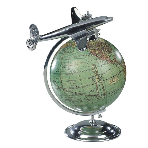 Authentic Models Aviation Desk Globe - On Top of the World