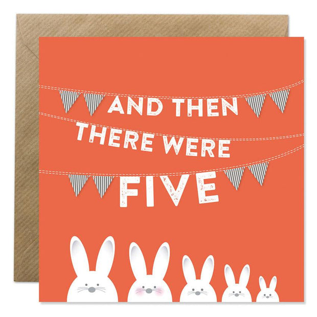 GIFT CARD - 'AND THEN THERE WERE FIVE'