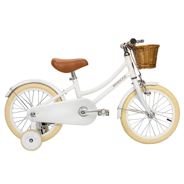 BANWOOD CLASSIC 16'' KIDS BIKE - WHITE