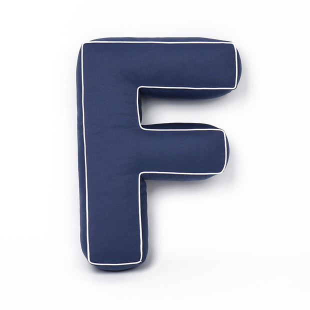 COTTON LETTER CUSHION (4 OPTIONAL COLOURS)