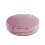 LARGE VELVET POUF - VARIOUS COLOURS