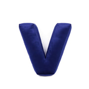VELVET LETTER CUSHION (6 OPTIONAL COLOURS)