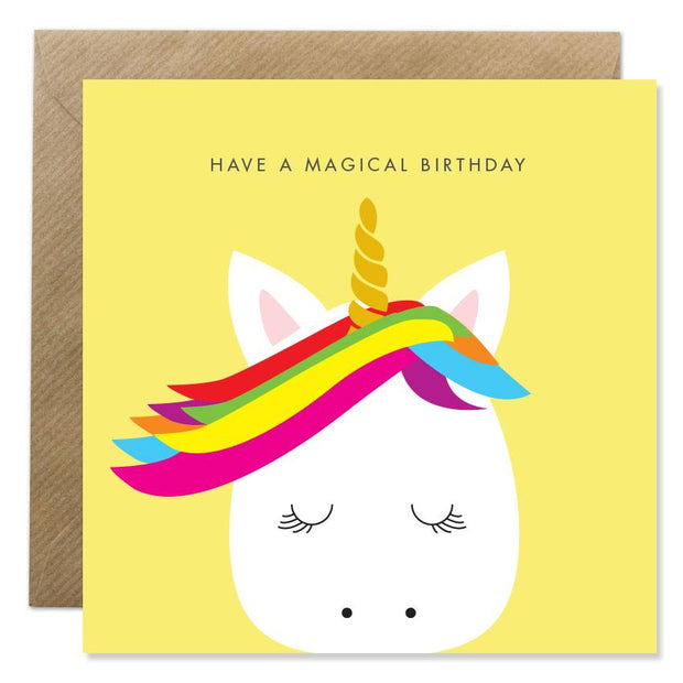 GIFT CARD - UNICORN MAGICAL BIRTHDAY