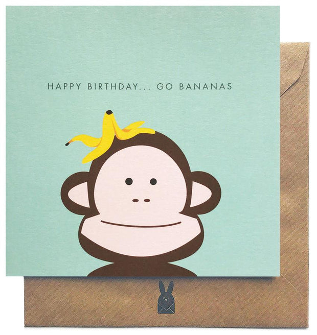 GIFT CARD - HAPPY BIRTHDAY GO BANANAS