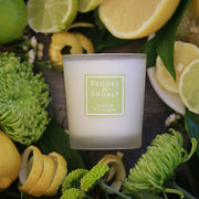 Brooke & Shoals Scented Candle - Grapefruit & Lemongrass