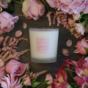 BROOKE & SHOALS SCENTED CANDLE - SWEET PEA & TEA ROSE