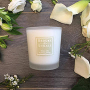 BROOKE & SHOALS SCENTED CANDLE - WHITE LILY & YLANG YLANG