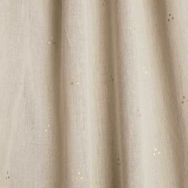 CAM CAM COPENHAGEN ORGANIC BED CANOPY - DOT LIGHT SAND