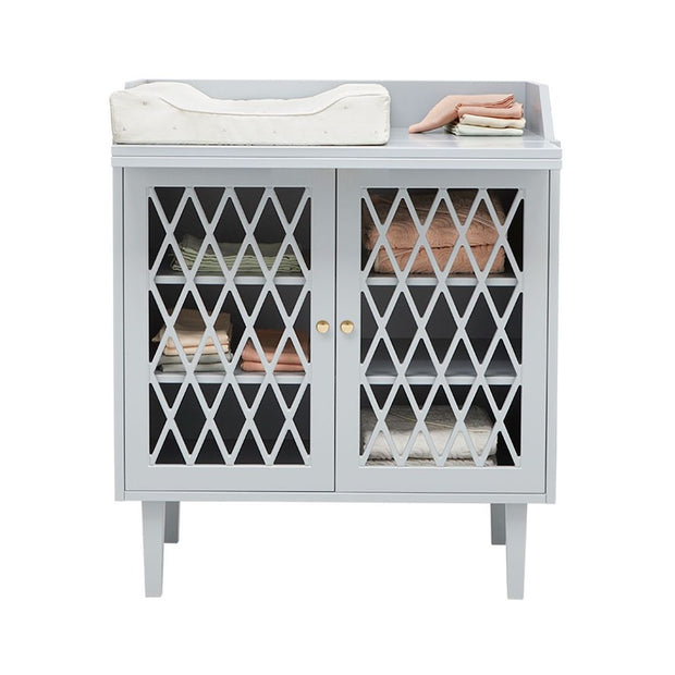 CAM CAM COPENHAGEN HARLEQUIN CHANGING TABLE - GREY