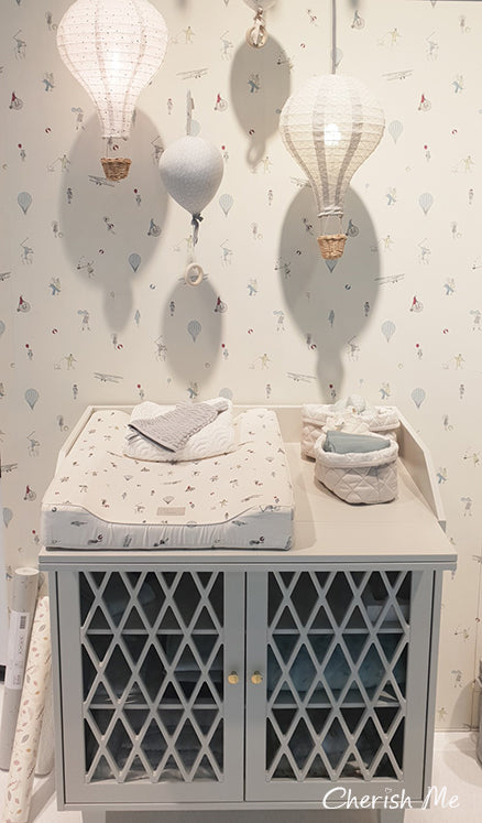 CAM CAM COPENHAGEN HARLEQUIN CHANGING TABLE - LIGHT SAND