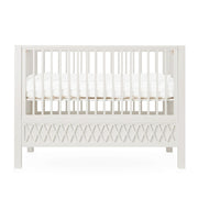 CAM CAM COPENHAGEN HARLEQUIN COT BED - LIGHT SAND
