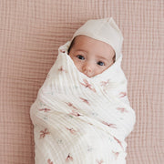 CAM CAM COPENHAGEN ORGANIC SWADDLE LIGHT - WINDFLOWER