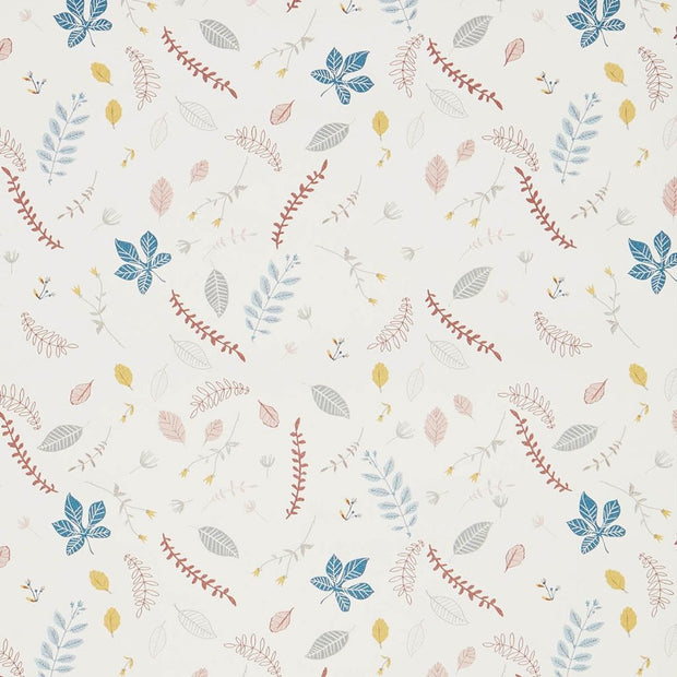 CAM CAM COPENHAGEN WALLPAPER - PRESSED LEAVES ROSE