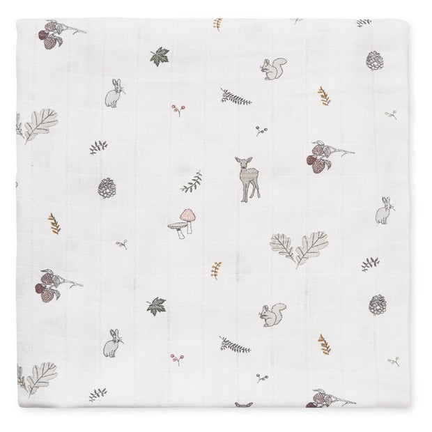 CAM CAM COPENHAGEN ORGANIC SWADDLE LIGHT - FAWN