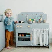 CAM CAM COPENHAGEN PLAY WOODEN KITCHEN - GREY