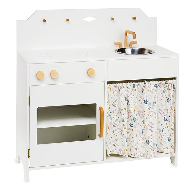 CAM CAM COPENHAGEN PLAY WOODEN KITCHEN - WHITE