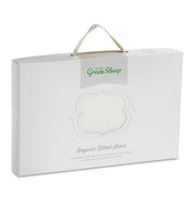 LITTLE GREEN SHEEP ORGANIC JERSEY FITTED SHEET - CRIB