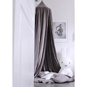 COTTON & SWEETS PURE NATURE LINEN CANOPY - SHARK
