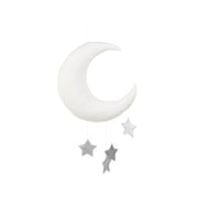Cotton & Sweets Mobile - Moon Silver Stars