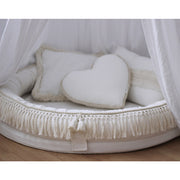 COTTON & SWEETS COTTON BOHO JUNIOR PLAY NEST - VANILLA