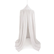 COTTON & SWEETS MAXI COTTON CANOPY - LIGHT GREY
