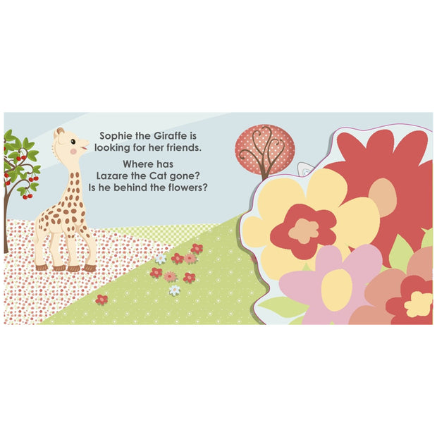 SOPHIE THE GIRAFFE MY FIRST BOOK - PEEK A BOO