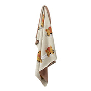 FABLIEK ORGANIC COTTON BLANKET - SNORING TIGER