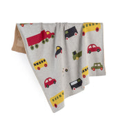 FABLIEK ORGANIC COTTON BLANKET - TRAFFIC JAM
