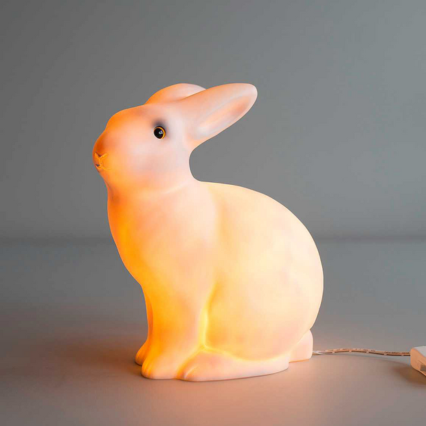 HEICO WHITE RABBIT LAMP