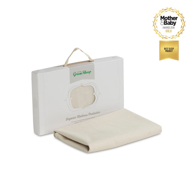 LITTLE GREEN SHEEP ORGANIC MATTRESS PROTECTOR - CRIB