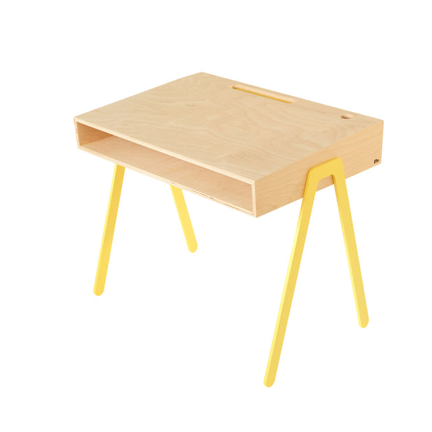 IN2WOOD KIDS DESK - YELLOW