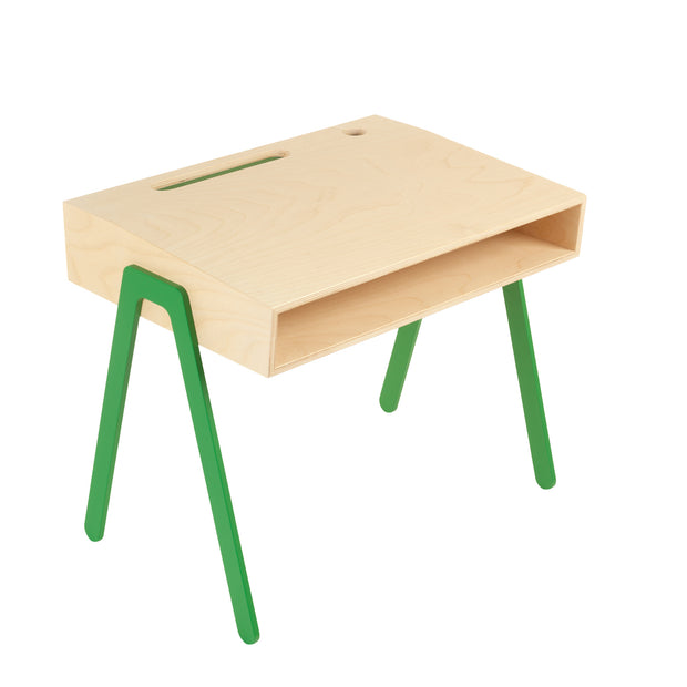 IN2WOOD KIDS DESK - GREEN