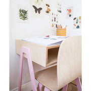 IN2WOOD KIDS DESK - PINK