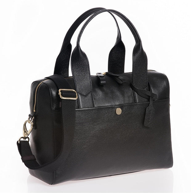 JEM + BEA BABY CHANGING BAG AMBER  - BLACK